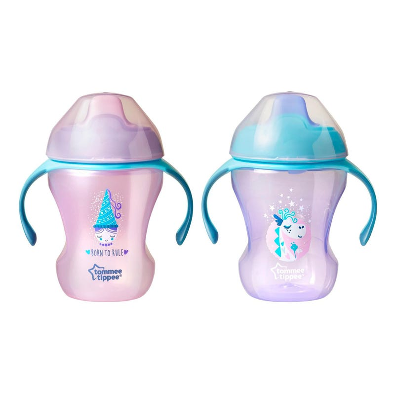 Trainer Cups 8oz Set of 2 - Pink