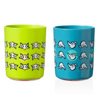 No Knock Cup 12months+ Set of 2 - Dog/Fox