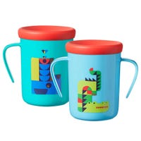 360 Trainer Cup 7oz - Blue/Green