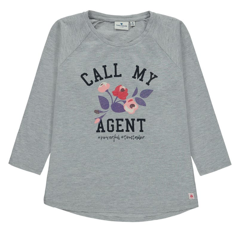 T-Shirt à Manches Longues Jardin 8-14ans