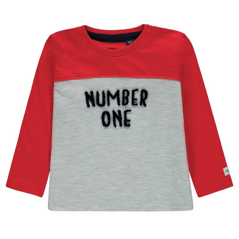 Raccoon #1 Long Sleeve T-Shirt 9-24m