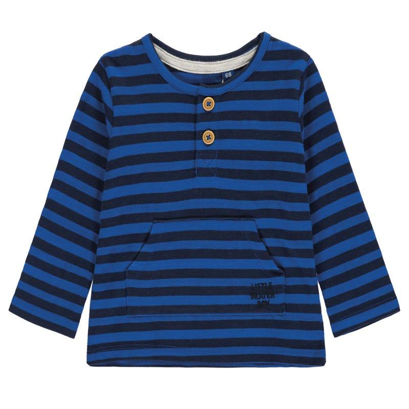 Monster Striped Long Sleeve T-Shirt 9-24m