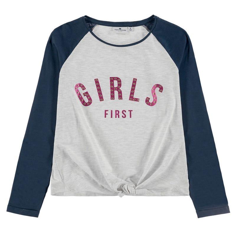 T-Shirt à Manches Longues Girls Funky 8-14ans