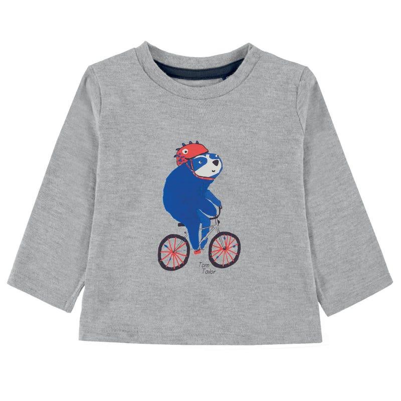 Racer Bike Long Sleeves T-Shirt 9-24m