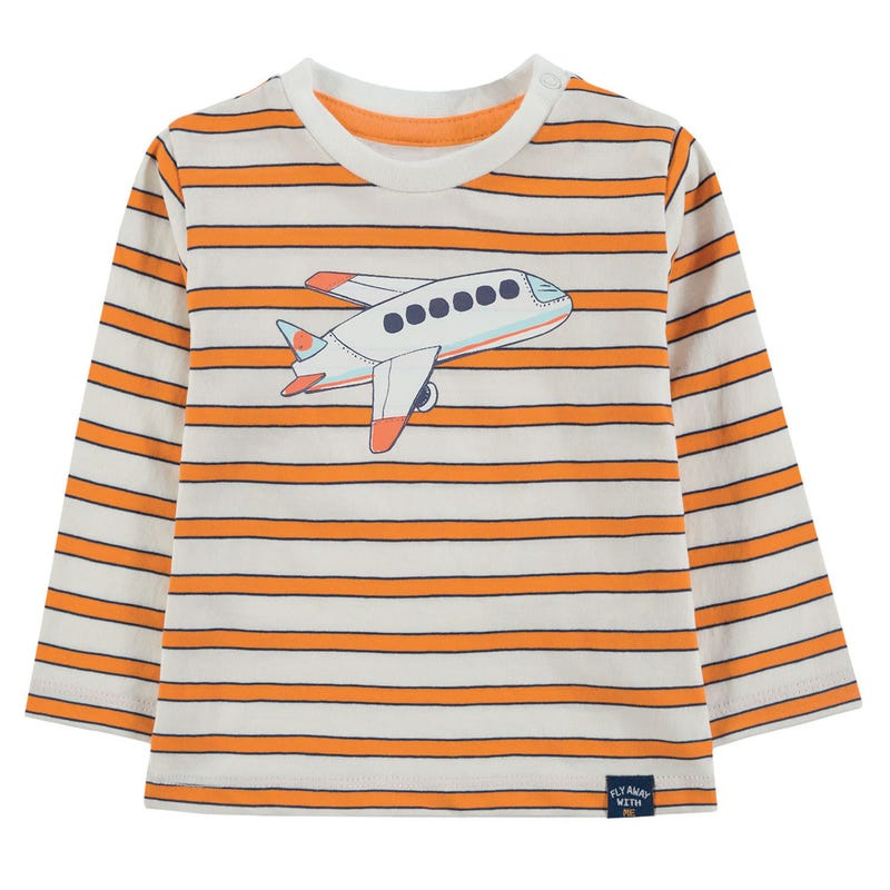 T-Shirt Avion Aventure 9-24mois