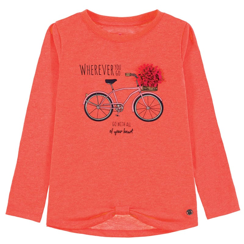 Flower Bicycle T-Shirt 2-9