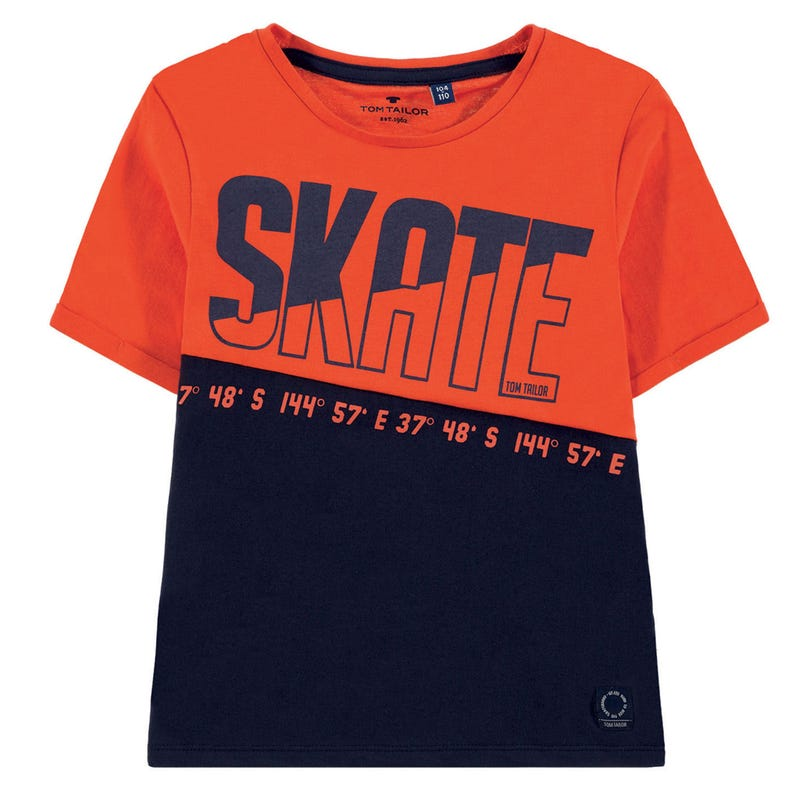 Skate Colorblock T-Shirt 2-9