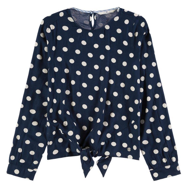 Chic Dots Long Sleeve T-Shirt 8-14y