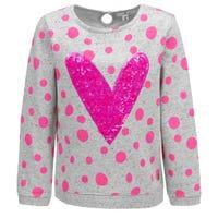 Cat Heart Sweatshirt 2-9
