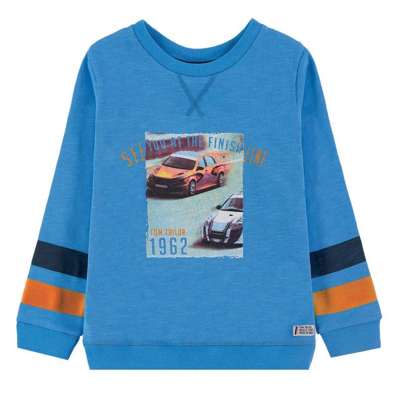 Car Print Sweatshirt 2-9