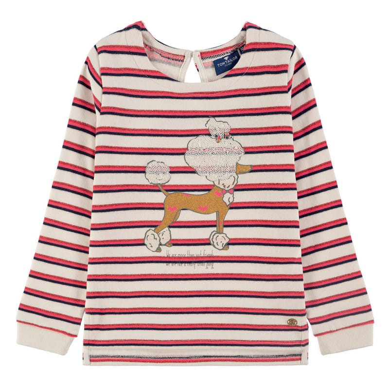 Paris Poodle Sweatshirt 2-9