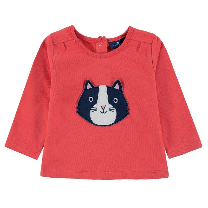 Cat L/S T-Shirt 9-24m