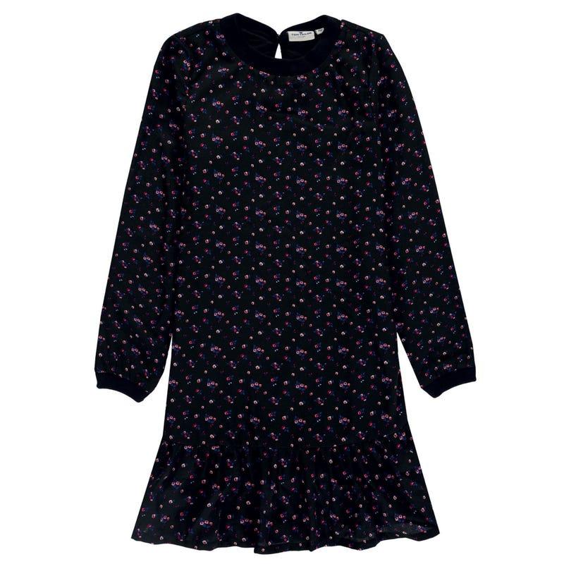Robe Manches Longues Jardin 8-14ans