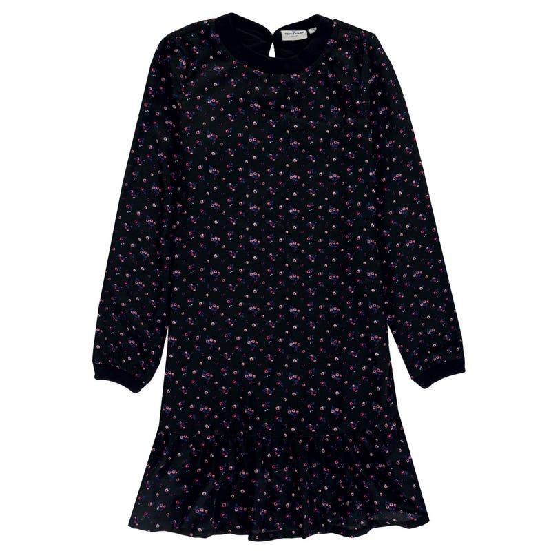 Garden Long Sleeve Dress 8-14y