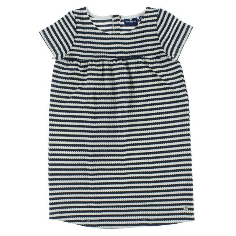 Cherry Striped Dress 2-9y