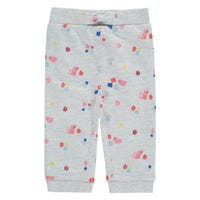 Cat Flowers Sweatpants 9-24m