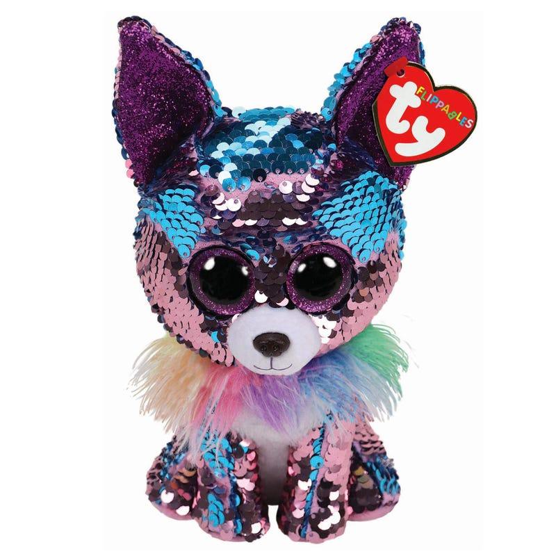Chien Chihuahua Brillant Bleu 24cm