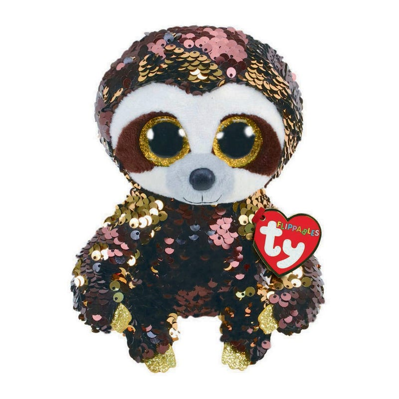 "Sequin Plush 7"" - Dangler Sloth"