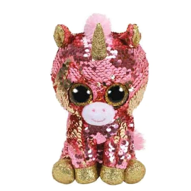 "Sequin Plush 8"" - Sunset Unicorn"
