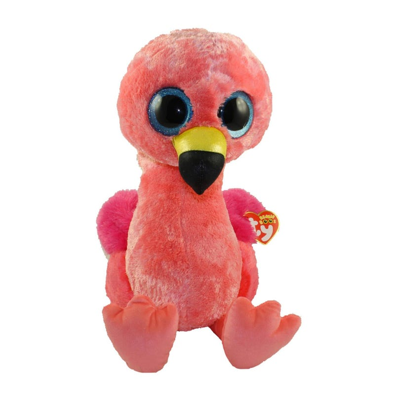 Peluche Flamant Rose Gros Yeux