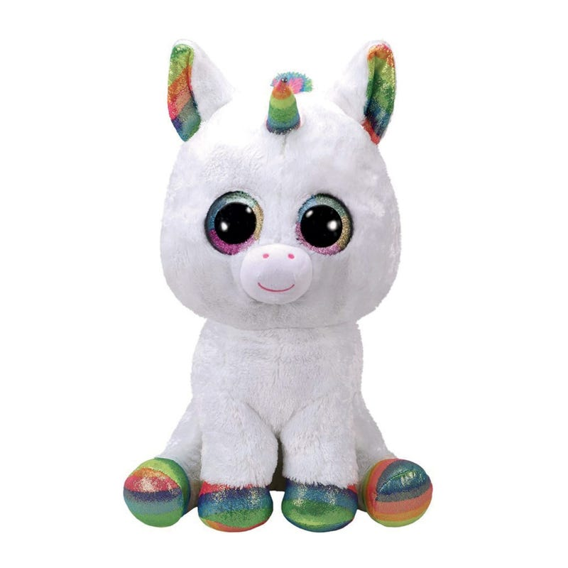 "Plush 7"" - Pixy White Unicorn"