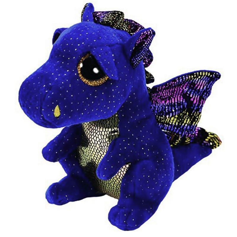 Beanie Boo's Peluche Saffire le Dragon