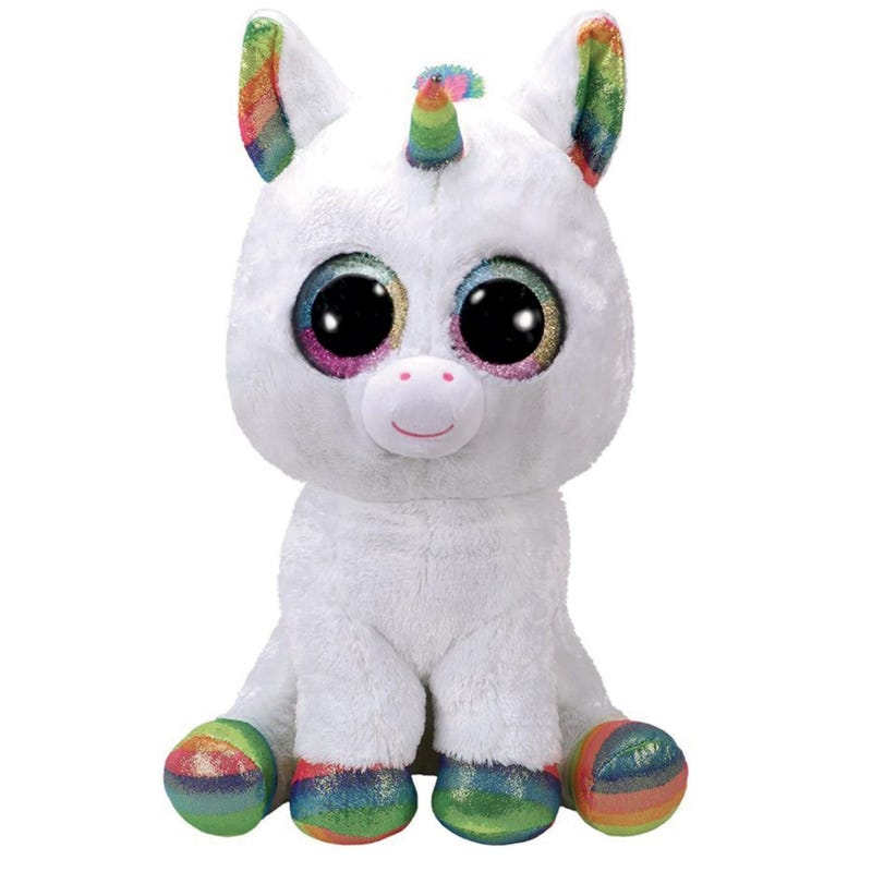 "Plush 13"" - Pixy White Unicorn"