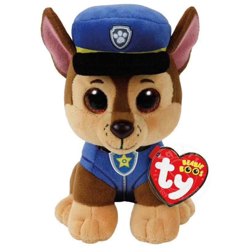 """Paw Patrol Plush 6"""" - Chase"""