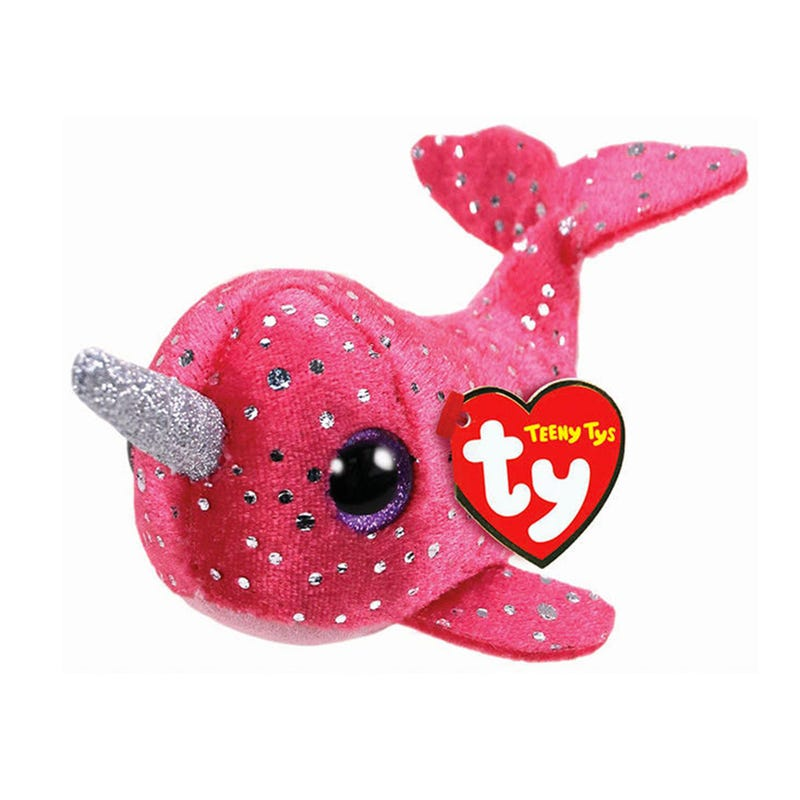"""Teeny Plush 4"""" - Nelly Narwhal"""