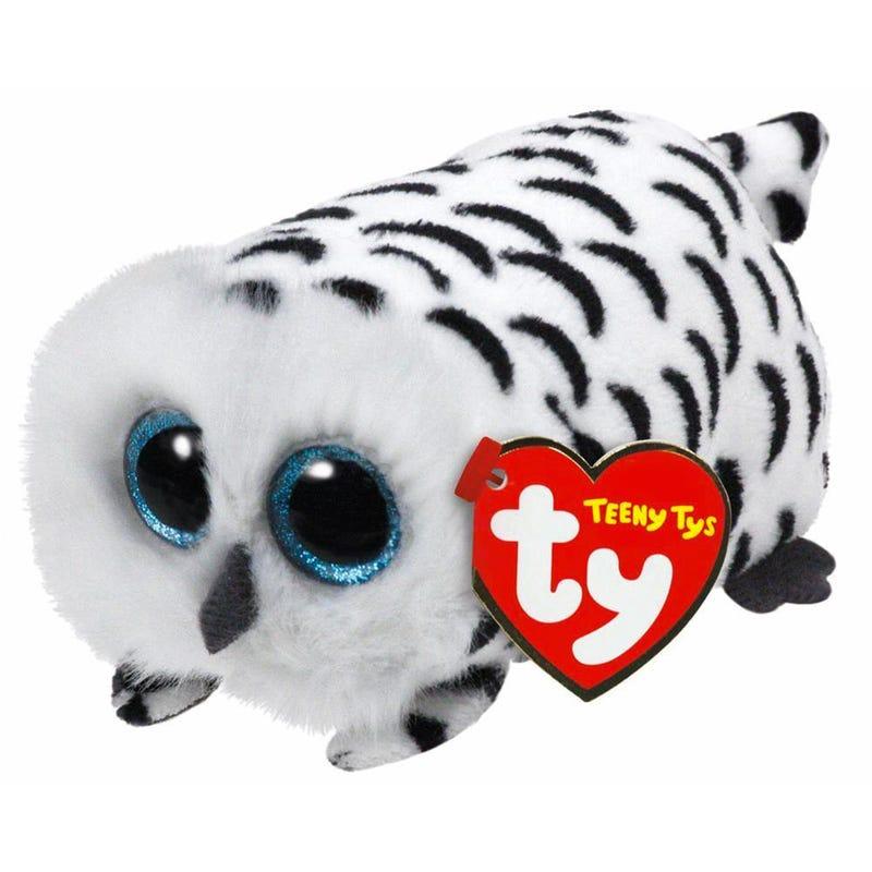 Peluche Hibou Teeny - Blanc