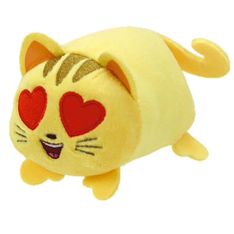 "Teeny Plush 4"" - Cat Heart Eye Emoji"