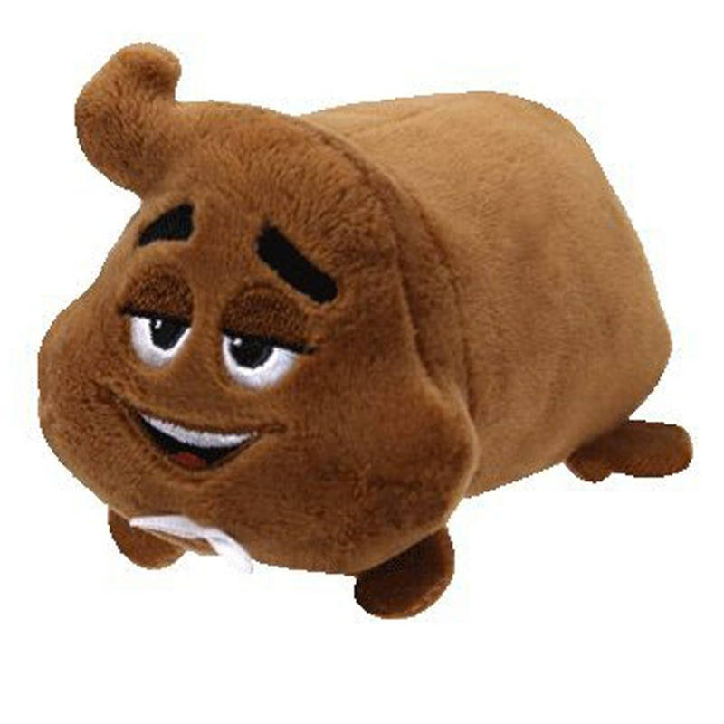 "Teeny Plush 4"" - Brown Sir Emoji"
