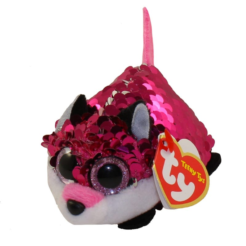 "Teeny Sequin Plush 4"" - Jewel Fox"