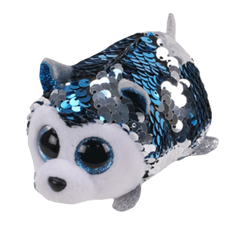 "Teeny Sequin Plush 4"" - Slush Husky"