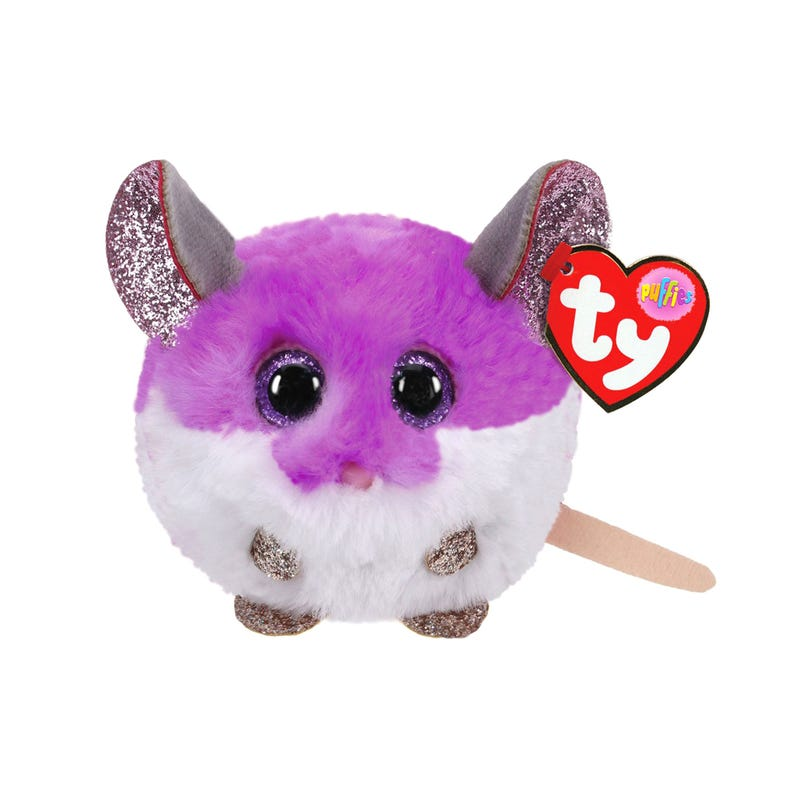 Souris Colby Mauve Ronde Puffies