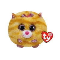 Cat Tabitha Yellow Puffies