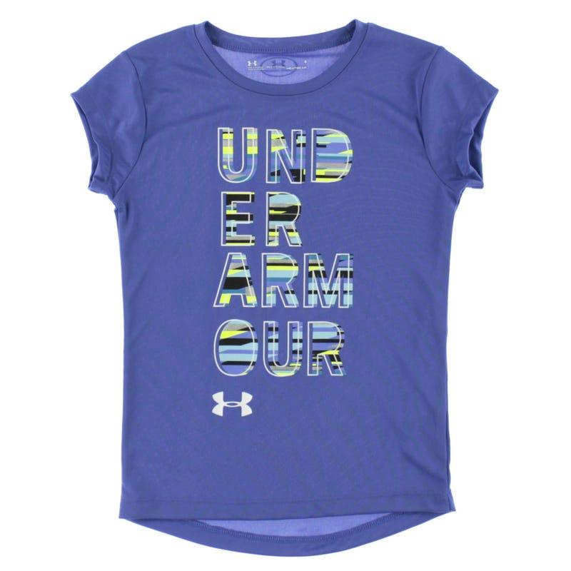 Ua Wordmark T-Shirt 4-6y