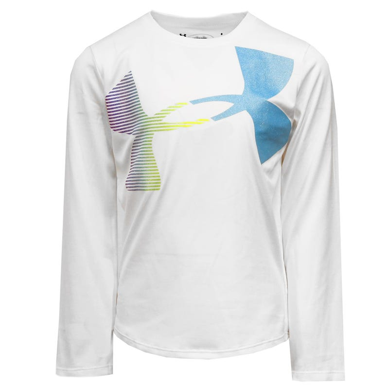 L/S Ua Big Logo T-Shirt 4-6y