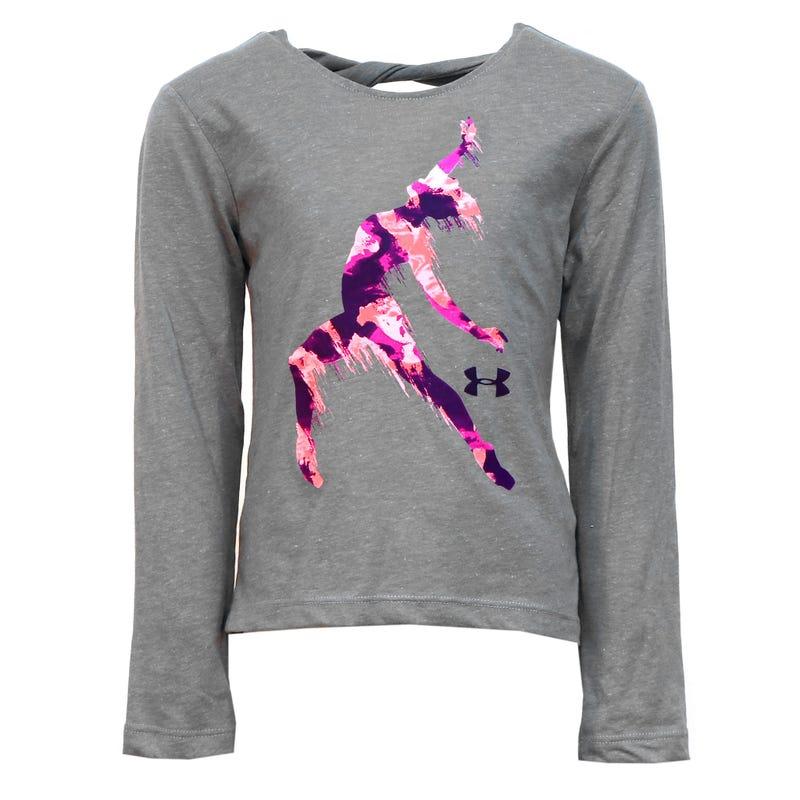 T-Shirt Manches Longues Fille Dancer 4-6ans