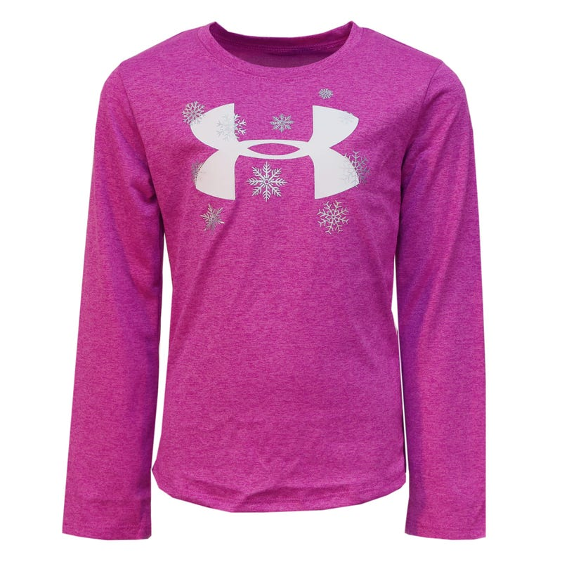 T-Shirt Manches Longues Fille Snowflake 4-6ans