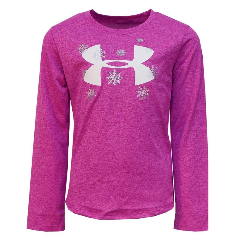 Snowflake Girl Long Sleeve Tshirt 4-6y