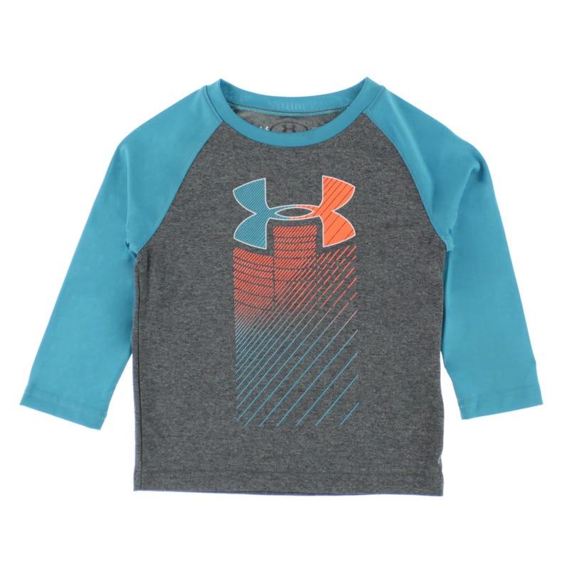 Rising Logo Long Sleeve  T-Shirt 2-4y
