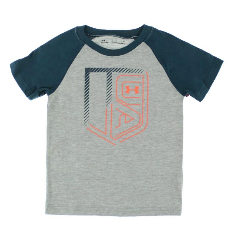 Ua Branded Raglan T-Shirt 2-4y