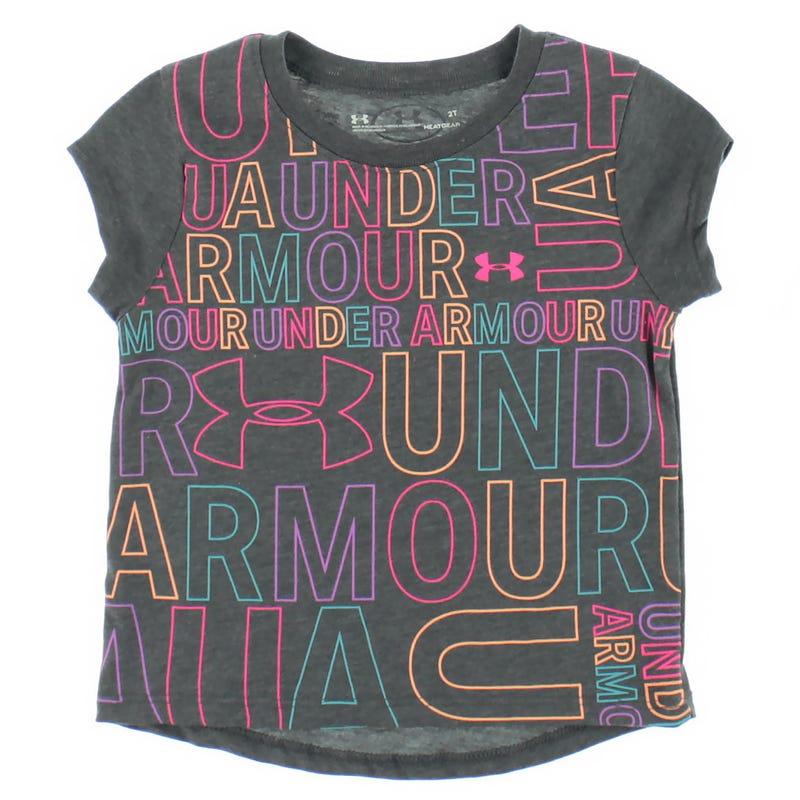 UA Trance Short Sleeve  2-4y