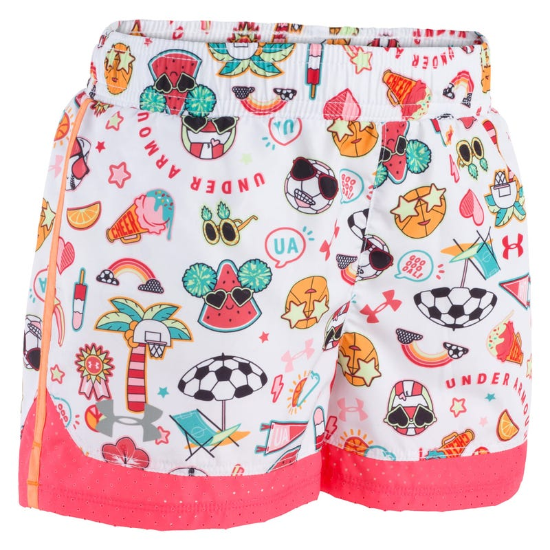 Short UA Summer Life Print 2-4