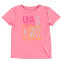 UA Collage Branded SS 4-6y