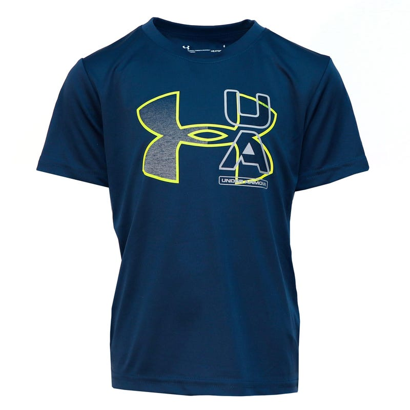Ua Fade Logo T-Shirt 4-7y