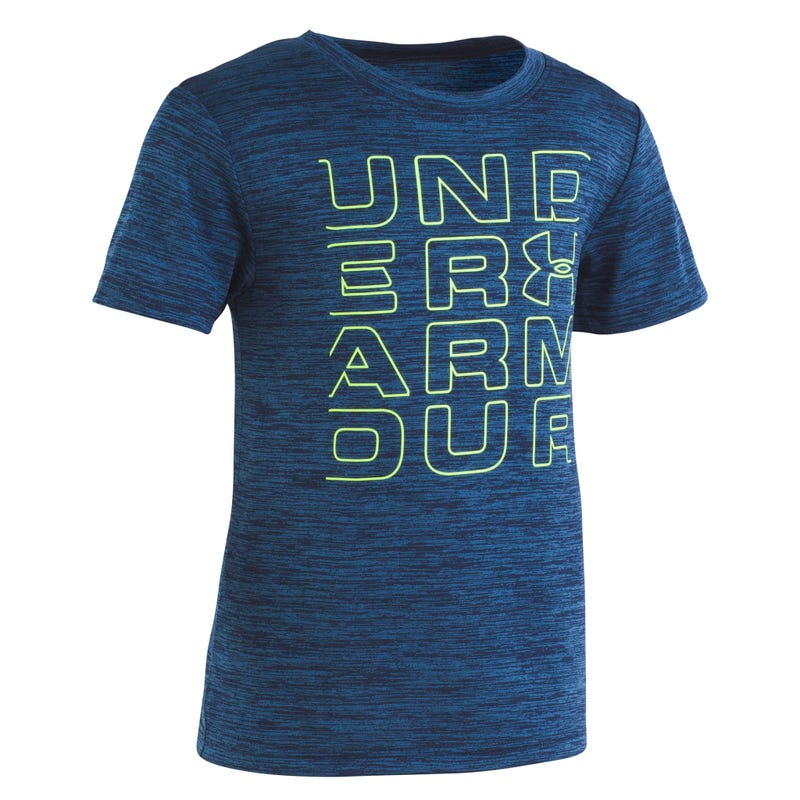 T-Shirt UA Twist Logo 4-7ans