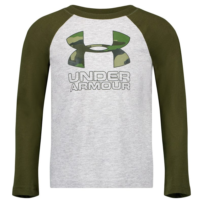 Camo Raglan Long Sleeve T-Shirt 4-7