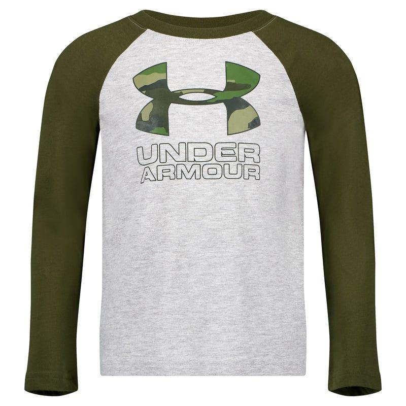 Camo Raglan Long Sleeve T-Shirt 4-7